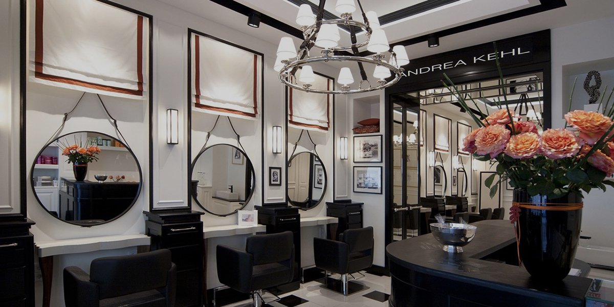 Homepage: Andrea Kehl Luxury Salons