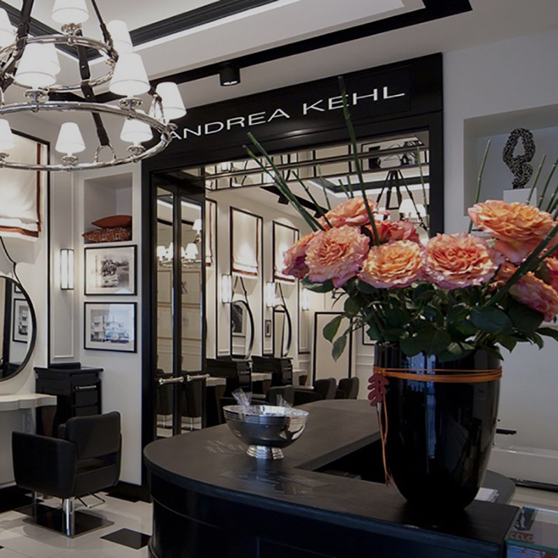 Homepage Mobile: Andrea Kehl Luxury salons