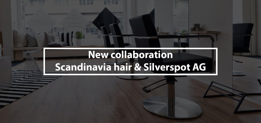 New collaboration between Scandinavia hair & the famous Commercial Production Studio Silverspot AG