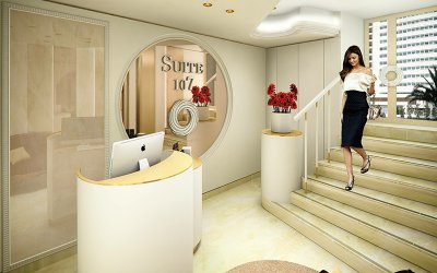 Welcome to SUITE 107 - INSTITUT DE BEAUTÉ, a luxurious and modern space